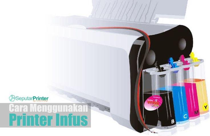 Gambar Cara Menggunakan Printer Infus