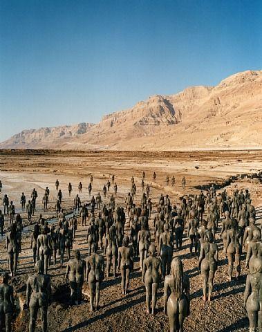 Spencer Tunick, Dead Sea, Israel