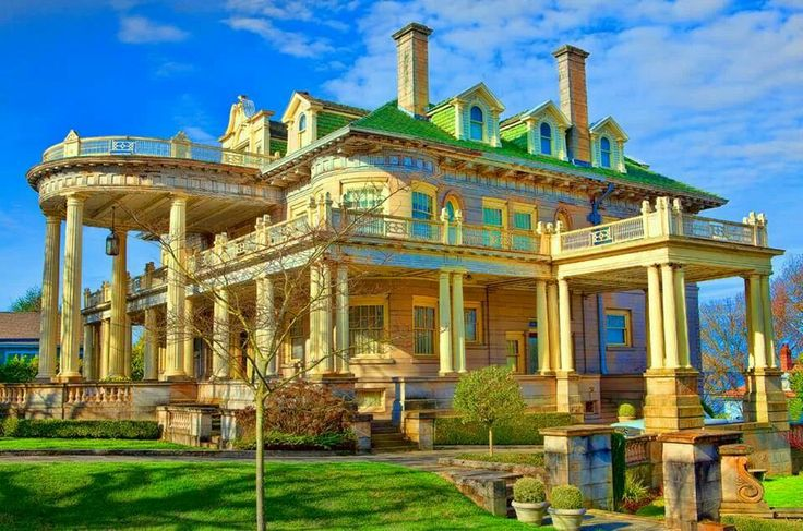 The old rust mansion tacoma wa washington my home for Home builders in wa