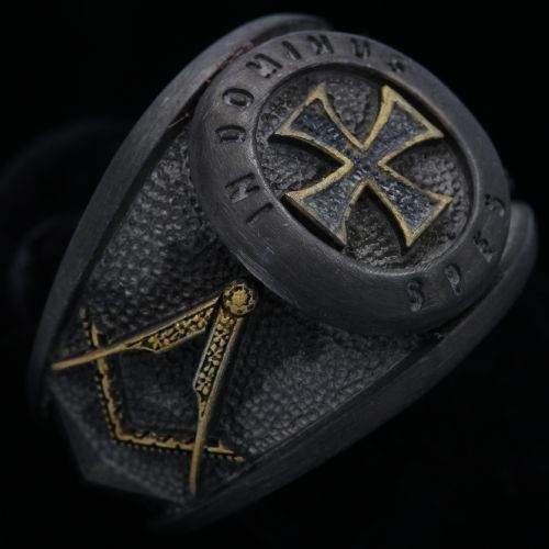 MASONICRING ~ Knights Templar Ring
