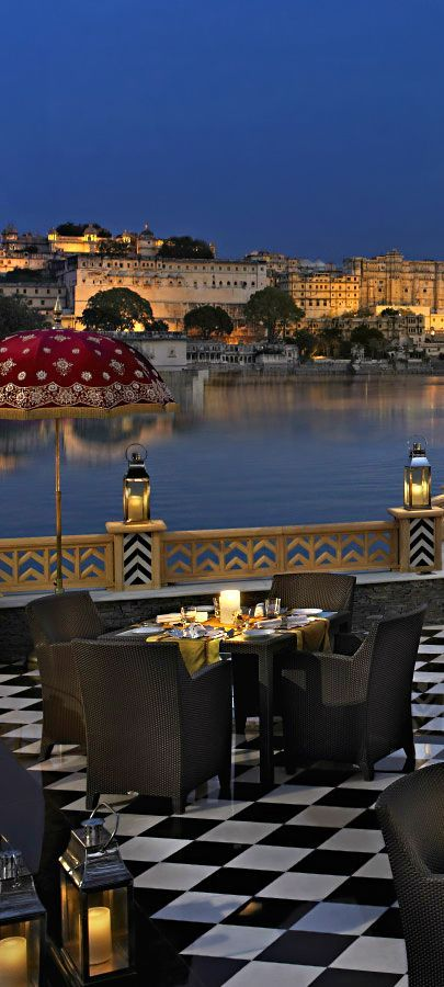 Would you like to have a date with your soul mate filled with romance?? What can be the better choice than Taj Lake Palace in #Udaipur? A candle light dinner on the coast of Pichola Lake under the shining starts is more enough to make your day special with your soul mate. Ananta Spa & Resorts