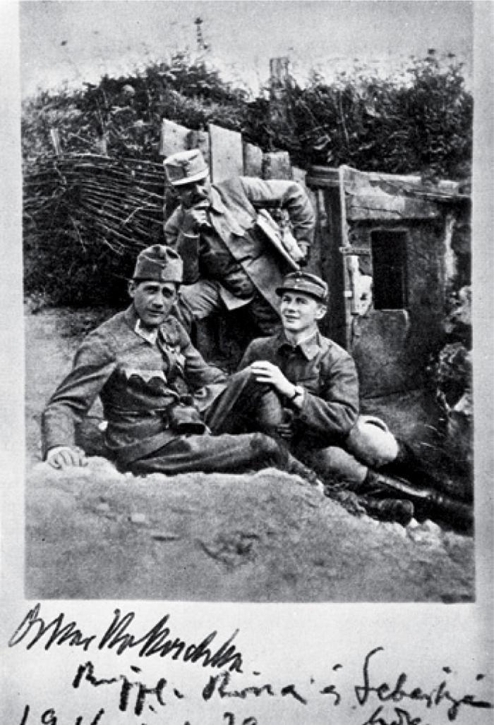 Oscar Kokoschka, Jószef Rippl-Rónai, László Sebestyén, 1916