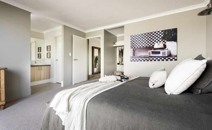 Large walk in robe and ensuite in master suite