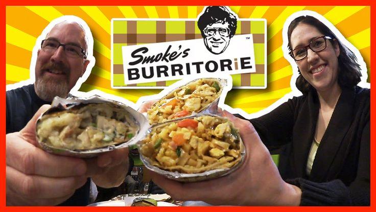 Poutine Burrito vs Pad Thai Burrito at Smoke's Burritorie with Pam Warren