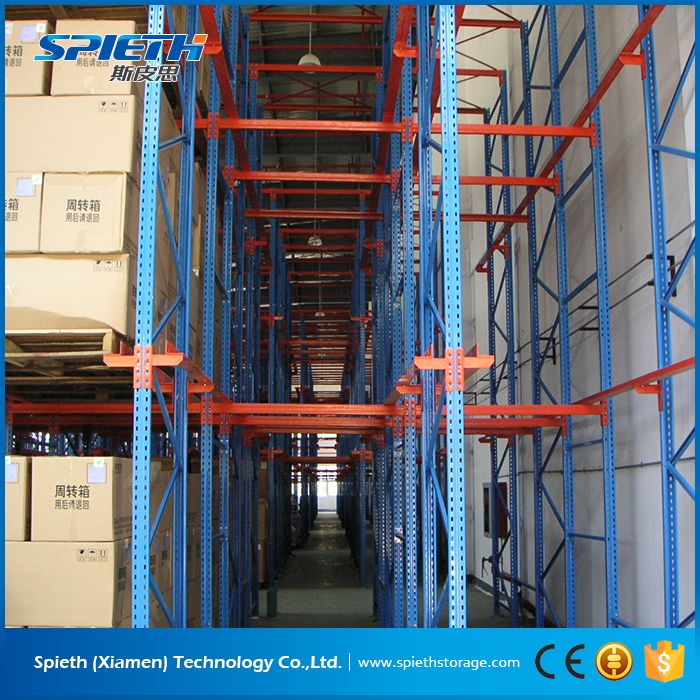 ce & iso oem warehuse racking system filo drive in pallet racking