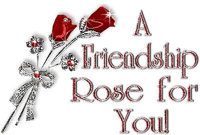 Friends forever hearts and roses | friendship animated cards friendship day message a friendship rose for