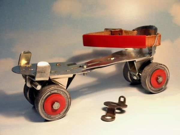 Top 10 Toys of the 1950s: #1 Lock Skates - Old Photo Archive - Vintage Photos and Historical Photos
