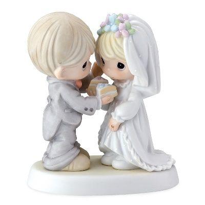 precious moments cake topper | Precious Moments Wedding Cake Topper