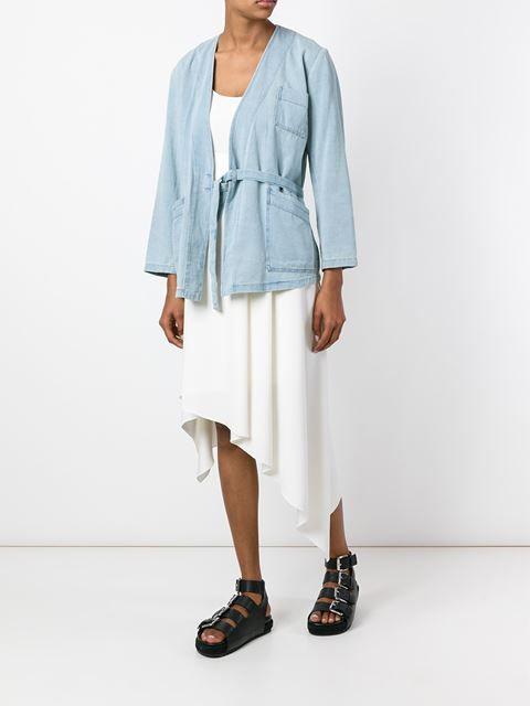 Mm6 Maison Margiela Jeansjacke im Kimono-Stil