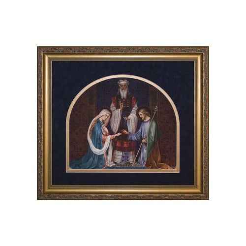 A Beautiful Depiction Of The Jewish Wedding Mary And Joseph This Is An Ideal
