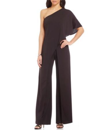 Shop for Adrianna Papell Crepe One Shoulder Jumpsuit at Dillards.com. Visit Dillards.com to find clothing, accessories, shoes, cosmetics & more. The Style of Your Life.
