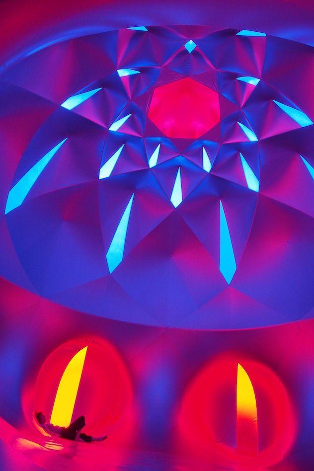 #Pentalum our latest #luminarium was built in 2013 http://www.architects-of-air.com/luminaria/pentalum.html