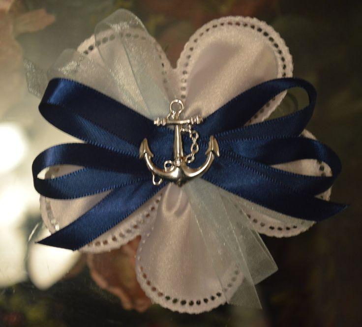 LOT OF 12 Confetti Flower Nautical Anchor favor, Almond Favors, Bomboniere, Italian favors, Jordan almonds flowers, Koufeta, Favours by ConfettiFlowerFavors on Etsy