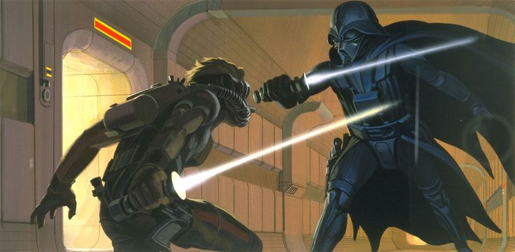 It was McQuarrie who suggested that Vader wear breathing apparatus.