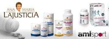 Ana María Lajusticia te ofrece complementos y suplementos alimenticios de primera calidad.  Descubre sus productos y sus beneficios en farmaciaonline.es #anamarialajusticia #suplemento #colagono