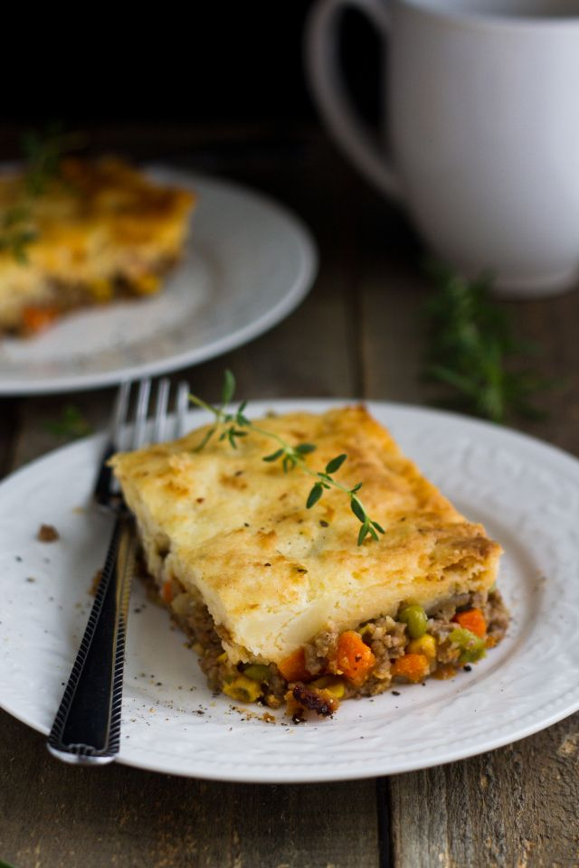 Sheperd's Pie-this is so good! I used ground beef instead of the ground lamb and seasoned the filling a little more. Seriously good stuff!