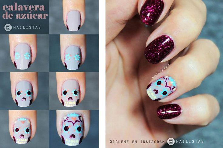 3 tutoriales de manicura para Halloween | Cuidar de tu belleza es facilisimo.com