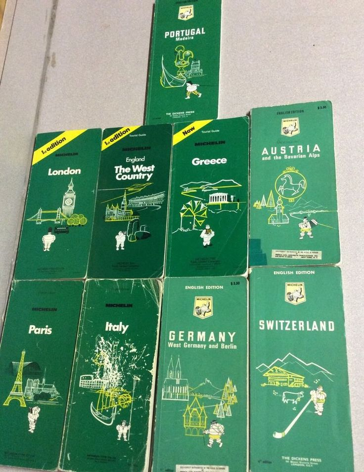 9 Vintage Michelin Travel Guide Books For Tourists With Maps. Germany, Italy, London, England, Paris, Greece, Portugal, Austria, Switzerland. Traveling Guides with maps vintage souvenirs.Visit my store for the 25% off most items Labor Day Sale!