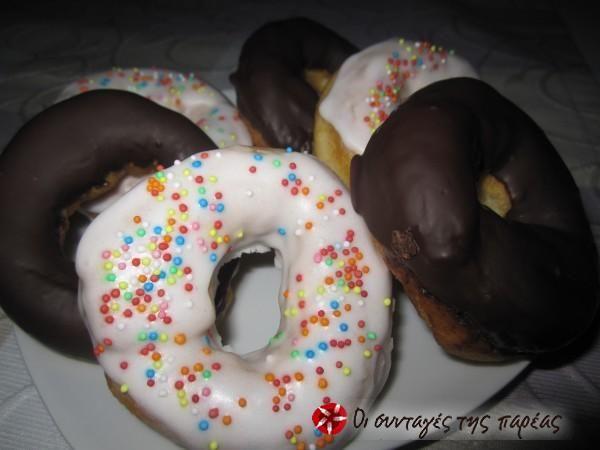 Donuts ή λουκουμάδες #sintagespareas