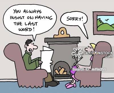 Image result for husband wife cartoon jokes
