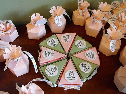 Creative Baby Shower Favor Ideas. Homemade ...