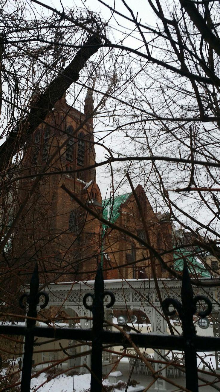 Англиканский собор святого Андрея. Москва, Вознесенский переулок