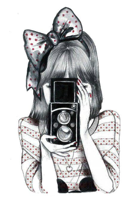 camera drawing.                                                                                                                                                                                 Mais