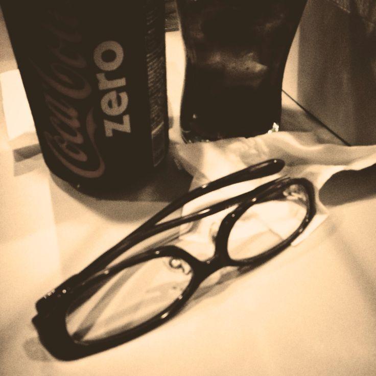 Glasses Journey with Coca Cola Zero