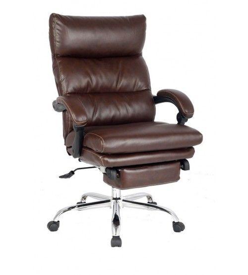 Viva Office Latest High Back Chair Ergonomic Bonded Leather Recliner Swivel Ning