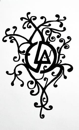 linkin park tattoo design awesome looks pinterest. Black Bedroom Furniture Sets. Home Design Ideas