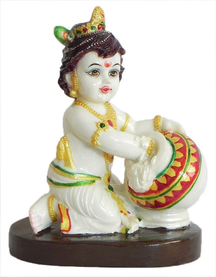 Makhan Chor Krishna (Marble Dust))