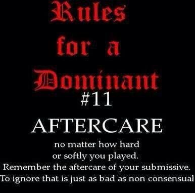 Bdsm house rules