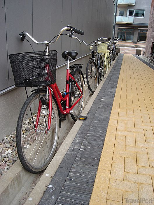 Bikes parked in a stormwater drain, Malmo, Sweden. Visit the slowottawa.ca boards >> https://www.pinterest.com/slowottawa/boards/