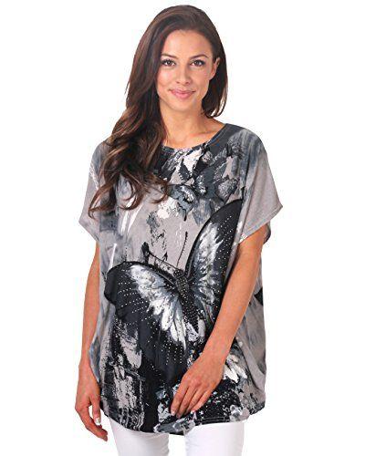 KRISP -  T-shirt - Stampa animalier - Maniche corte  - Donna Grey 42