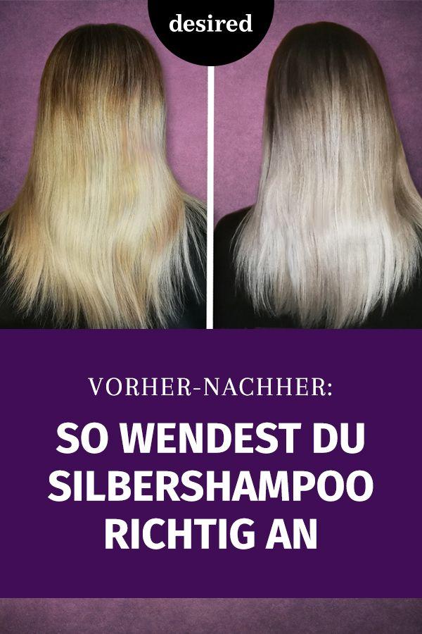 So Wendest Du Silbershampoo Richtig An Frisuren Styling Tipps