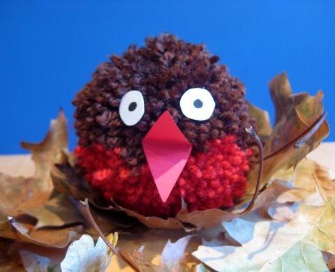 yarn pom pom robin: Christmas Crafts, Pompom Crafts, Pies Robins, Pompom Robins, Christmas Pompom, Crafts Idea, Boys Art, Arts Crafts For Older, Crafts Pompom