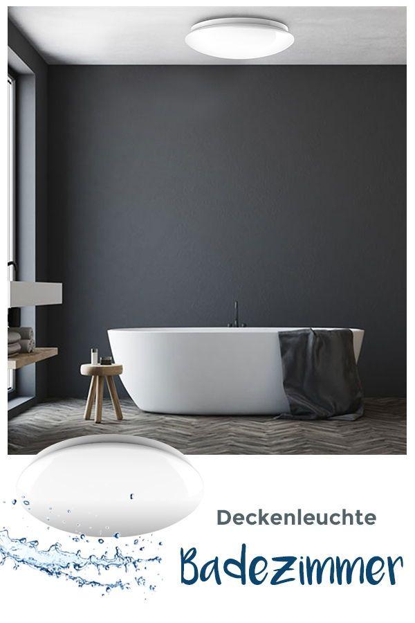 Bad einrichten: Deckenleuchte für dein Bad entdecken. Runde ...