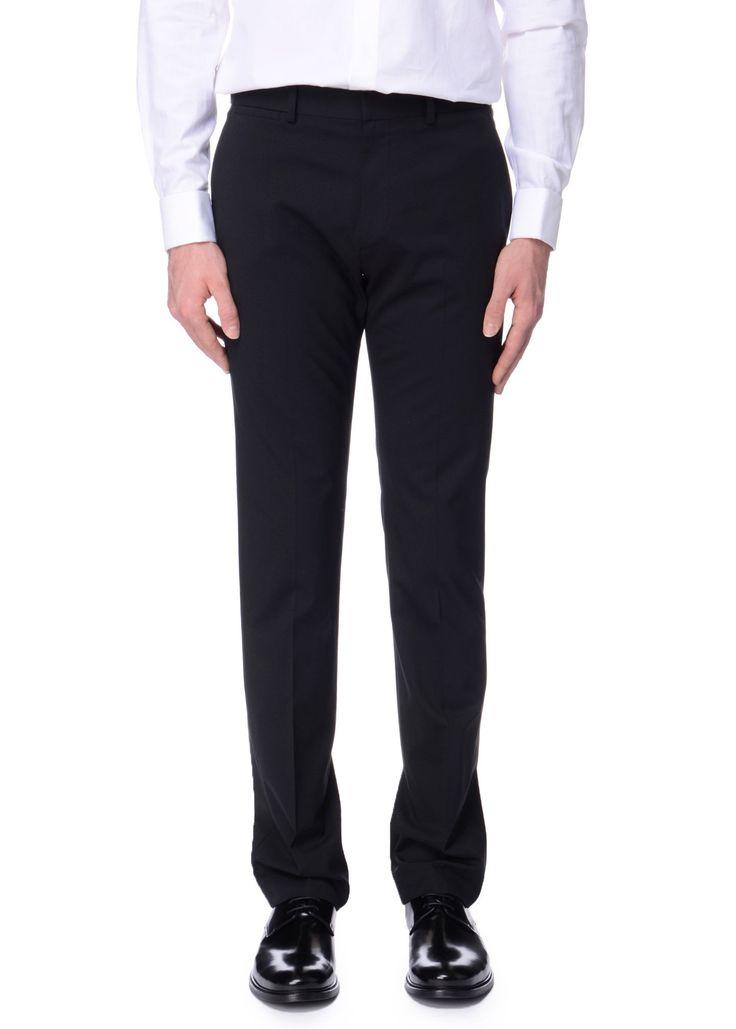 Theory - SS17 - Menswear // Black Marlo pants in wool