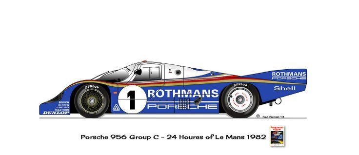 Porsche 956 First Pinterest Le Mans Mans Et Voitures