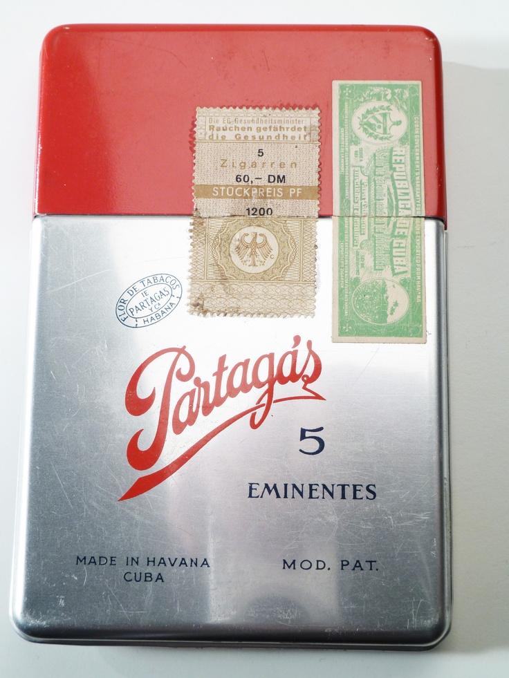 Vintage Partagas Cigar Case