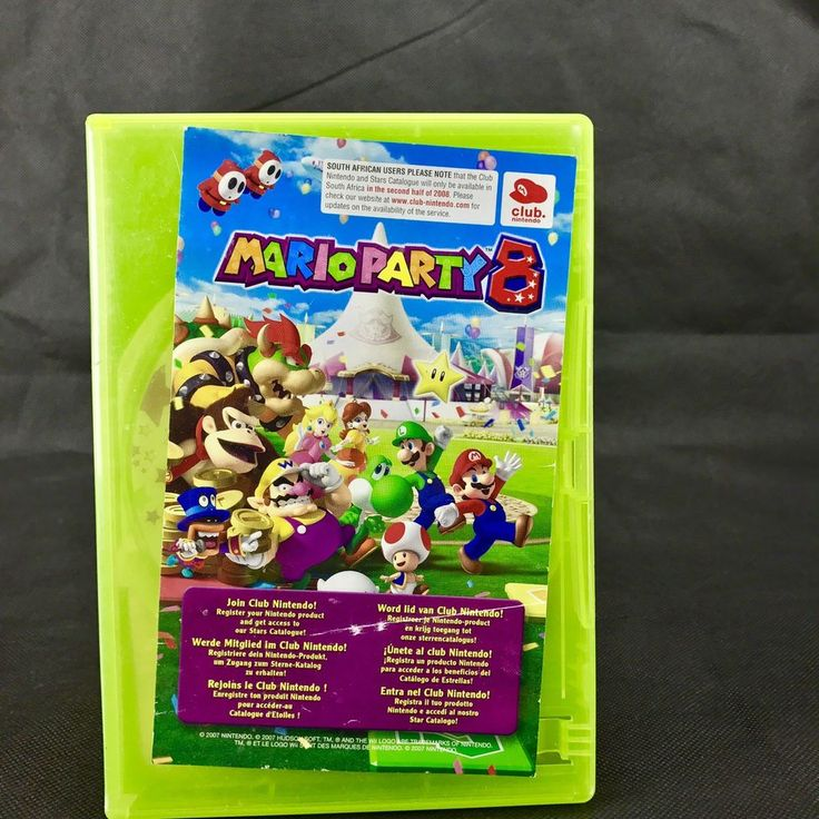 Super Mario Party 8 Game for Nintendo Wii & Wii U  - FAST POST