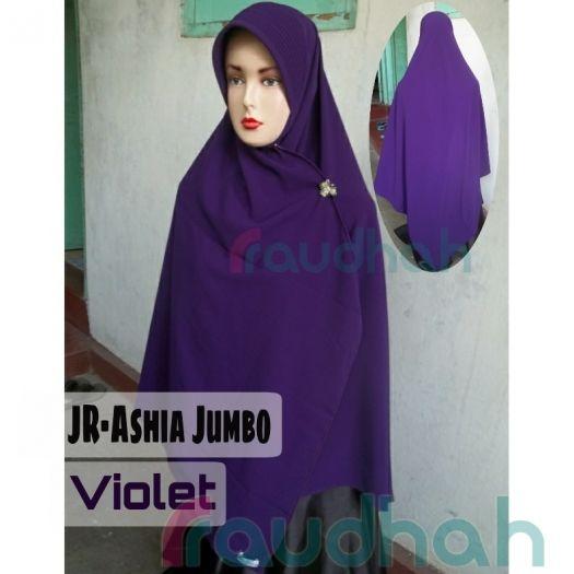 Semi Instan Ashia jumbo adalah produk dari Jilbab Raudhah yang simple, ngga perlu ribet-ribet kalo pakainya. jilbab ashia jumbo ini baru ada yang polos, jilbab semi instan jumbo seukuran jilbab segi empat 130x130