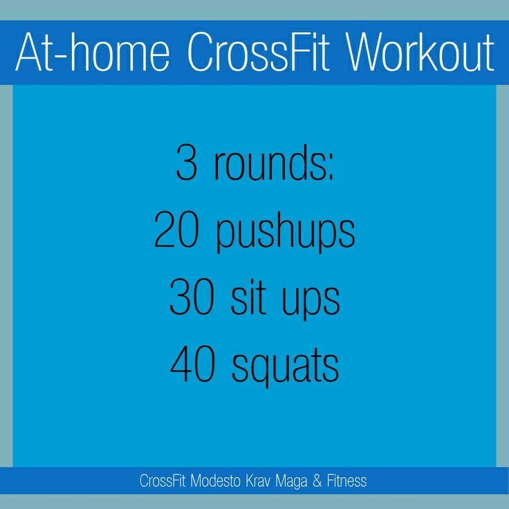 Crossfit Workout Routines: On My To Do List. I Like Simple Workouts It's Like Warm-up