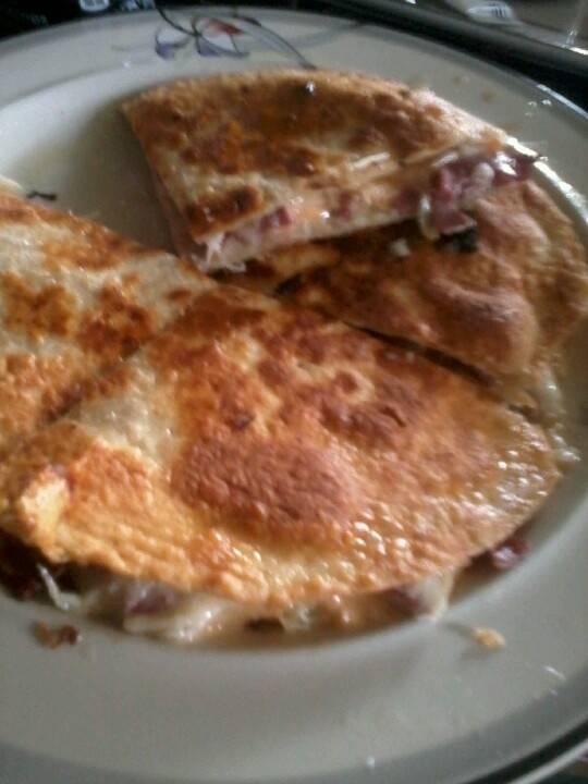 Reuben Quesadillas Recipe — Dishmaps