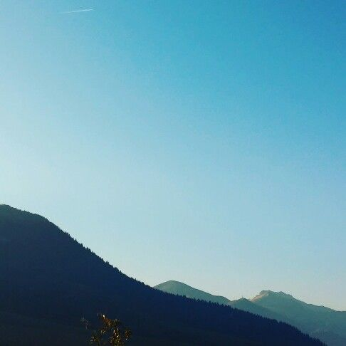 #sky #mountain #forest #chill #chillday #nature
