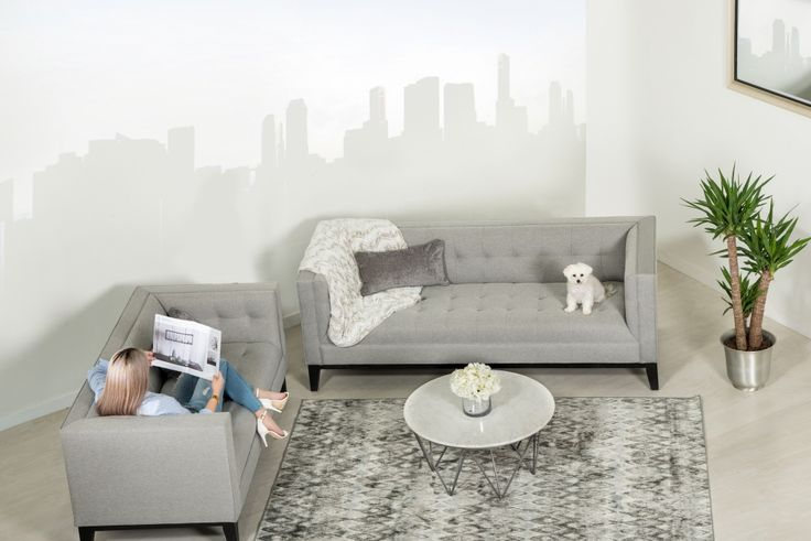 Complete your room with the clean lines of the Nigel Collection.  Made in Canada by Kavuus.com