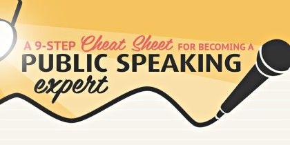 The Ultimate Cheat Sheet To Becoming A Great Public Speaker
