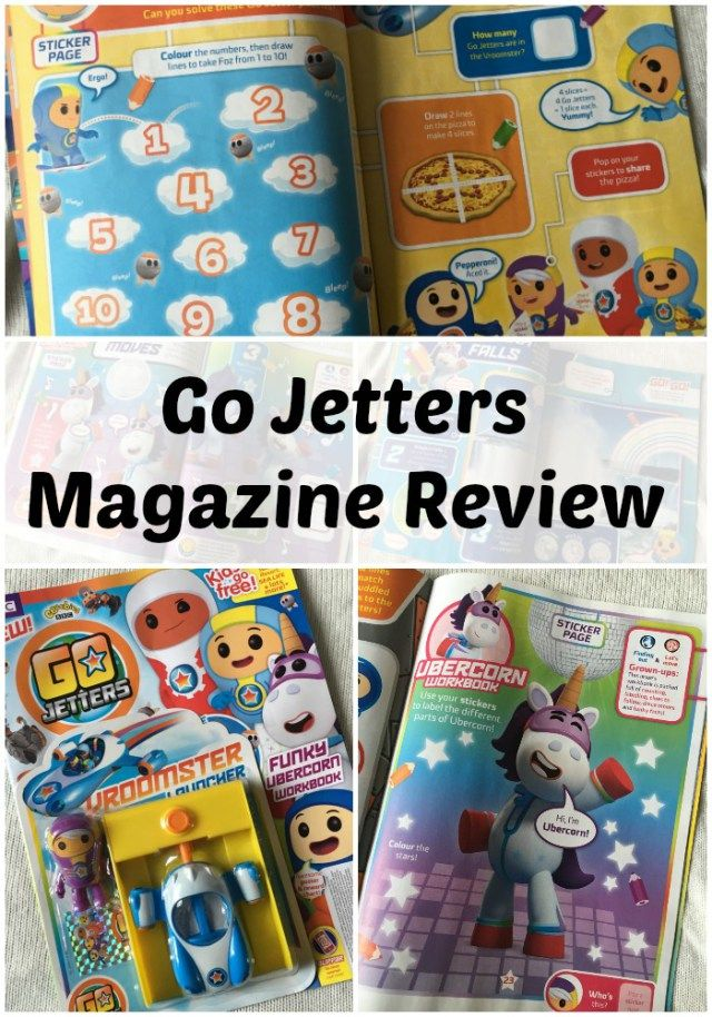 Go Jetters Magazine Now Available. CBeebies Magazine Review
