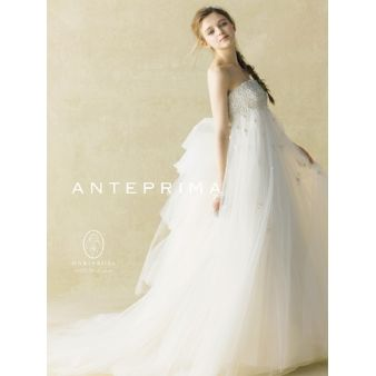 ACQUA GRAZIE(アクア・グラツィエ):【ANTEPRIMA】2015年新作ドレス!エアリーなエンパイア♪ANT0074