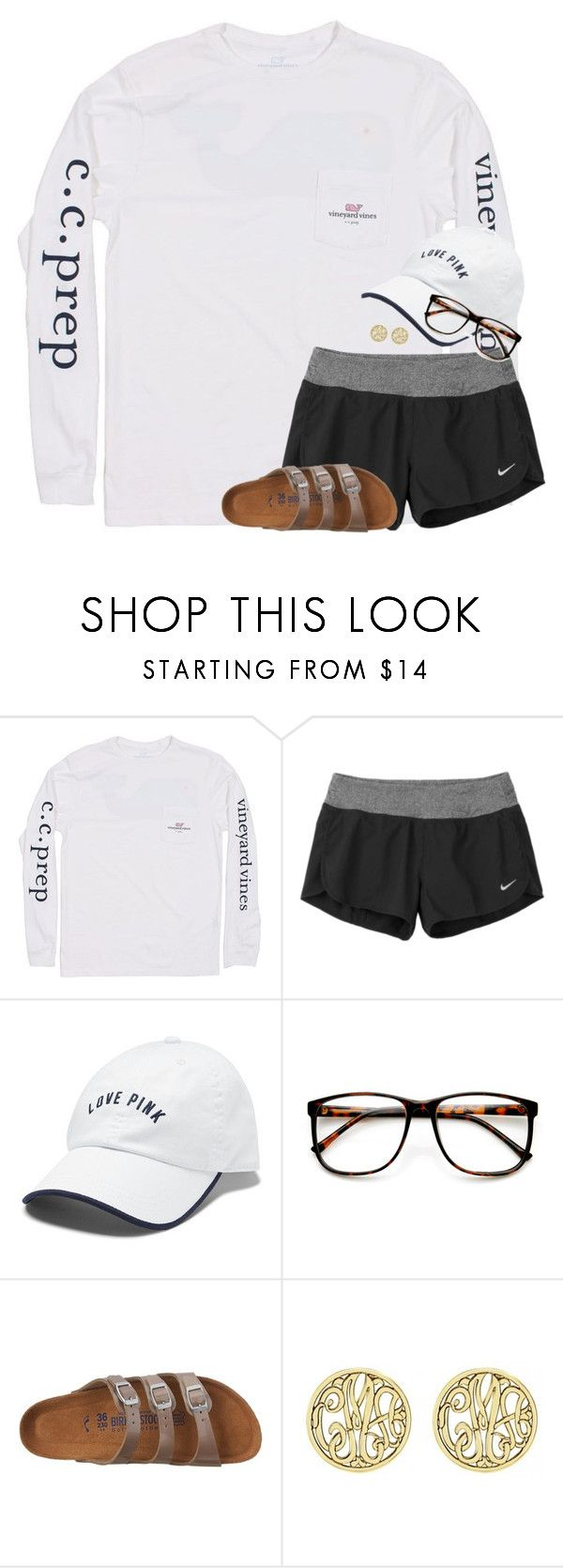 """""""I want to go back to Mexico"""" by amberfmillard-1 ❤ liked on Polyvore featuring Vineyard Vines, NIKE, Victoria's Secret, ZeroUV, Birkenstock and Alison & Ivy"""